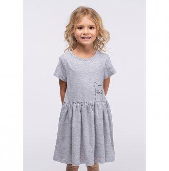 Детское платье Vidoli Серый G-19832S