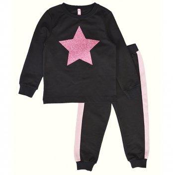 Детский спортивный костюм для девочки Vidoli Черный G-20627W