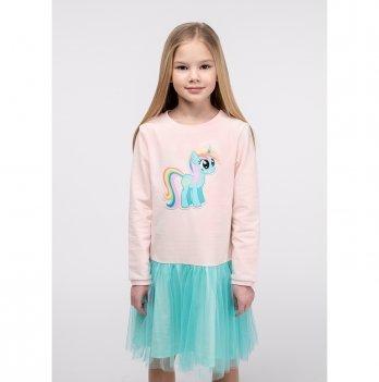 Детское платье Vidoli Персиковый G-20845W