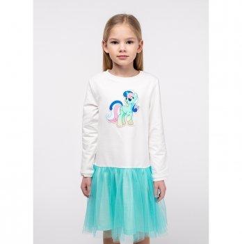 Платье Vidoli Молочный G-20846W