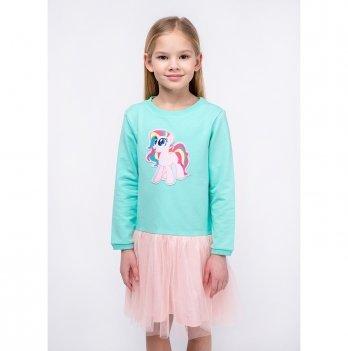 Детское платье Vidoli Мятный G-20849W