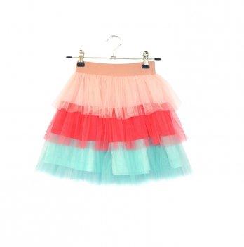 Детская юбка Vidoli Персиковый G-20857W