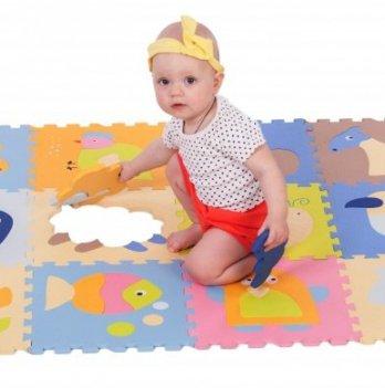 Детский коврик-пазл