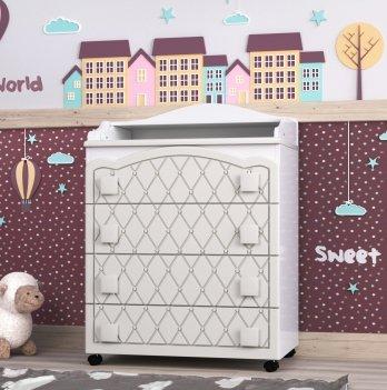 Комод в детскую комнату СидиМ Гламур Dresser Glamour