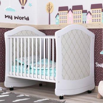 Детская кроватка СидиМ Гламур Baby Cot Glamour