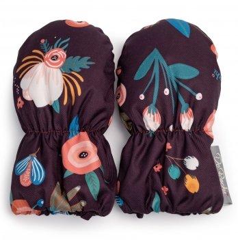 Детские рукавички ДоРечі Лиловый 1949