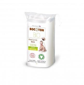Органические ватные диски детские Bocoton Hydra большие 60 шт