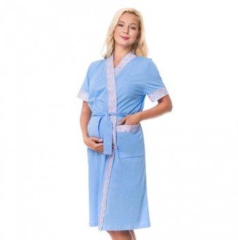 Халат для беременных и кормящих мам DISSANNA 2134