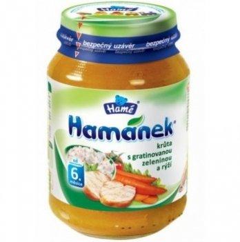 Пюре Hame Hamanek Индейка с рисом и запеченными овощами 190 г