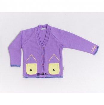 Кофта Lutik Котик КД-843 фиолетовый