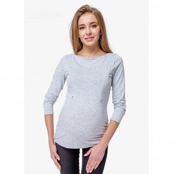 Лонгслив для беременных и кормящих мам Creative Mama, Melange