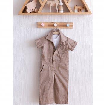 Детский летний комбинезон Magbaby Cotton Капучино 2-5 лет