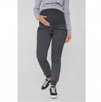 Спортивные штаны для беременных Lullababe Vancouver Антрацит LB10VN101-DM
