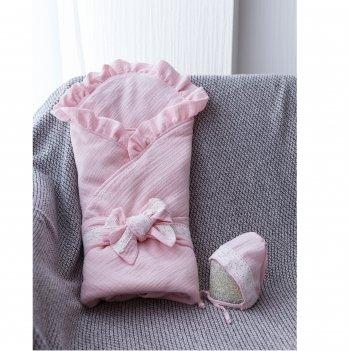 Конверт на выписку летний муслиновый Magbaby Shery Розовый