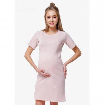 Платье для беременных и кормящих мам Creative Mama, Nude Chik