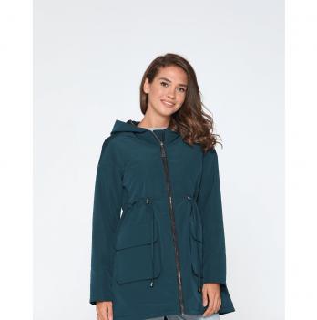 Куртка для беременных Lullababe Batumi Темно-зеленый