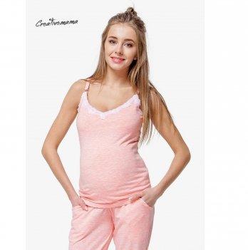 Топ для беременных и кормящих мам Creative Mama, Peach Coton