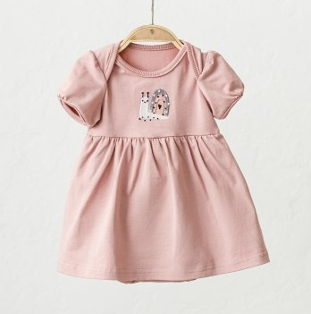 Платье-боди для девочки Magbaby Kelly Розовый 0-2 года