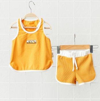 Летний костюм для детей Magbaby Bruce Горчичный 1-5 лет