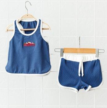 Летний костюм для мальчика Magbaby Bruce Синий 1-5 лет