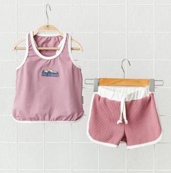 Летний костюм для девочки Magbaby Bruce Розовый 1-5 лет
