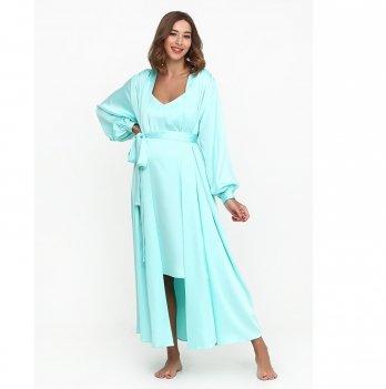 Комплект в роддом Creative Mama халат + ночная сорочка TIFFANY