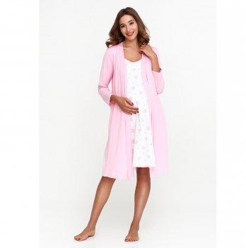 Комплект в роддом Creative Mama халат+ ночная сорочка PROVANCE