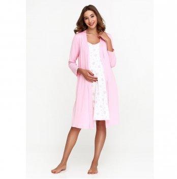 Халат для беременных и кормящих мам Creative Mama Rose