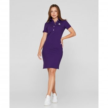 Платье для кормящих мам Lullababe Polo Фиолетовый