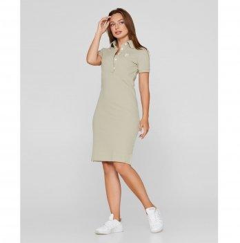 Платье для кормящих мам Lullababe Polo Бежевый