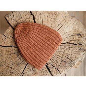 Детская вязаная шапка Magbaby Alen 6-24 мес Коричневый
