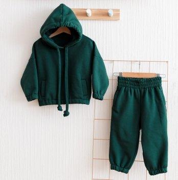 Флисовый костюм детский Magbaby Over Темно-зеленый