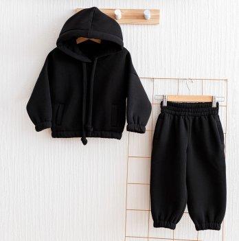 Флисовый костюм детский Magbaby Over Черный