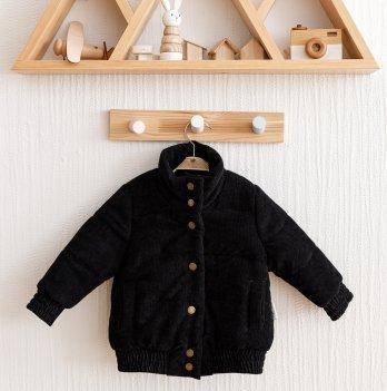 Куртка демисезонная детская на мальчика Magbaby Line Черный