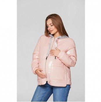 Демисезонная куртка для беременных Lullababe Zaragoza Пудра