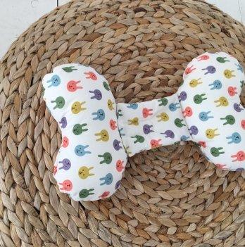 Ортопедическая подушка для новорожденных Magbaby, Butterfly, Зайки
