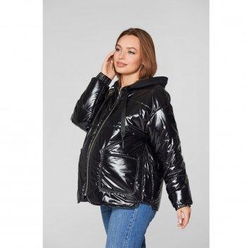 Демисезонная куртка для беременных Lullababe Zaragoza Черный