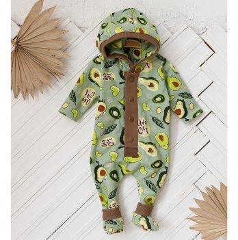 Комбинезон утепленный детский Magbaby Milan Зеленый