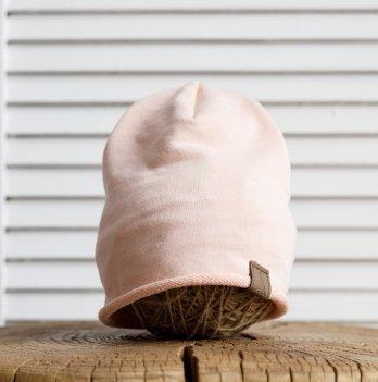 Детская шапка Magbaby Crude 6-24 мес Пудровый