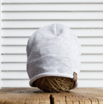 Детская шапка Magbaby Crude 2-5 лет Серый