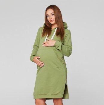 Платье для беременных и кормящих мам Lullababe Antalya Оливковый