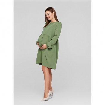 Платье для беременных и кормящих мам Lullababe Genoa Оливковый