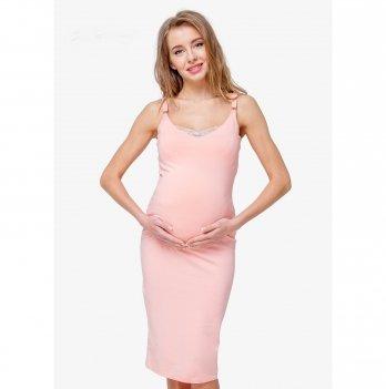 Платье-топ для беременных и кормящих мам Creative Mama, Bodycon Peach