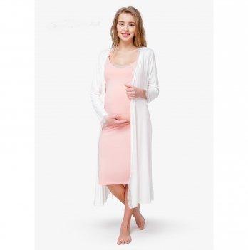 Комплект в роддом Creative Mama, Prima, халат + ночная сорочка