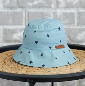 Панама детская Magbaby Classik Звезды на голубом 0-5 лет