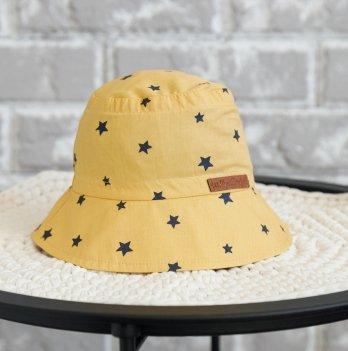 Панама детская Magbaby Classik Звезды на горчичном 0-5 лет