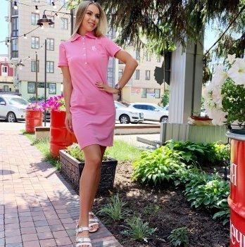 Платье для кормящих мам Lullababe Polo розовый