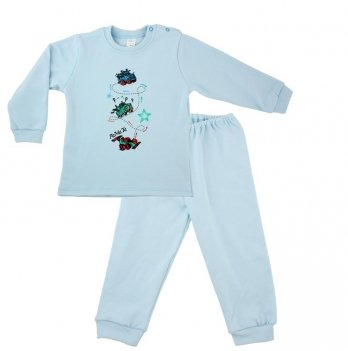 Пижама PaMaYa 91-07н голубой