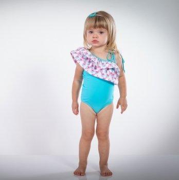 Купальник для девочки MagBaby Аргентина Фламинго