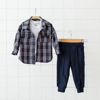 Детский костюм для мальчика Magbaby Triple Темно-синий 1-5 лет